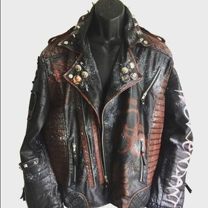 Space punk jacket by chad cherry